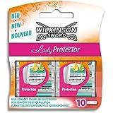 Wilkinson Lady Sword - Hoja de afeitar para mujer, 10 unidades