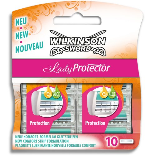 Wilkinson Sword Lady Protector Klingen 10 Stück (Damen Rasierklingen)