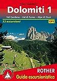 libro Dolomiti 1. Val Gardena - Val die Funes - Alpe di Siusi. 52 escursioni. GPS-Tracks: BD 1