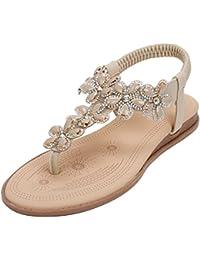 CJ Sommer Sandalen für Damen Große Strandschuhe, B, UK 6/EU 38.5