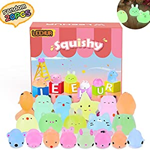 Mini Squishy Fluorescentes Kawaii Squishys