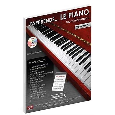 J'apprends... LE PIANO tout simplement Vol.2 C. Astie + CD