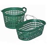 PANICK 1313902 Gartenkorb 15 kg,rund grün