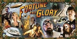 Flying Frog Productions 501 Fortune und Glory - Juego de Mesa Importado de Alemania
