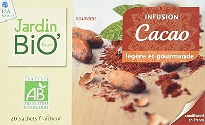 Jardin Bio Infusion Cacao 30 g - Lot de 4