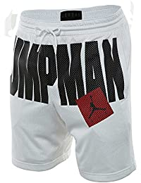 667251ee9458e Jordan Pantaloncini Sportswear Aj Jumpman Air Mesh bianco formato  XXL  (XX-Large)