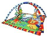 Bebe Style Baby Spielteppich mit Bogen – Krabbeldecke & Kuschelteppich mit Spielbogen im Animal Design