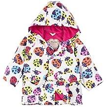 Hatley Baby-Mädchen Regenmantel Mini Printed Raincoats