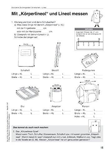 Der Zeichengeräte-Führerschein - Übungsmaterial zu Lineal, Geodreieck und Zirkel (einschl. 1 Klassensatz farbiger Führerscheine)