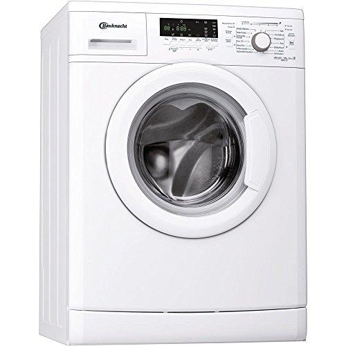 Bauknecht WAK 81 Waschmaschine Frontlader / 1400 UpM / 8 kg / weiß / Fertig in - Option / 15 Minuten Programm