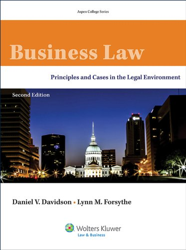 Business Law: Principles and Cases in the Legal Environment (Aspen College Series) (English Edition)