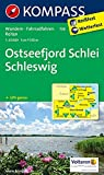 Ostseefjord Schlei - Schleswig: Wanderkarte mit Radrouten und Reitwegen. GPS-genau. 1:35000 (KOMPASS-Wanderkarten, Band 708) -