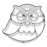 Large-Birkmann Frido the Owl Cookie Cutter