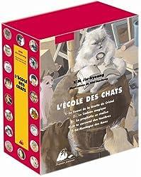 L'Ecole des Chats : Coffret en 2 volumes : Tomes 1 à 5