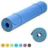 KeenFlex rutschfeste Yogamatte in verschiedenen Farben – frei von Schadstoffen – vollständig recyclebar- SGS geprüft perfect Fitnessmatte Sportmatte Gymnastikmatte Pilatesmatte