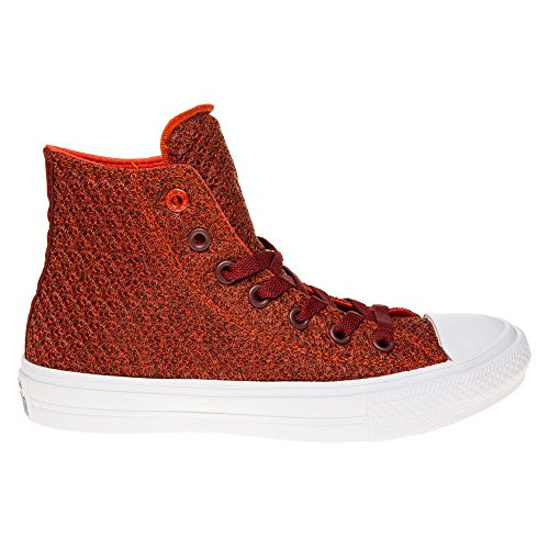 Converse Chuck Taylor All Star II High Femme Baskets Mode Rouge Rouge