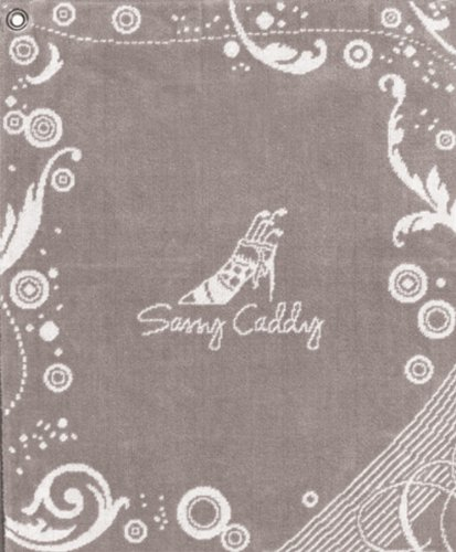 sassy-caddy-womens-golf-towel-grey-white