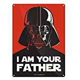 Tin Sign Small Star Wars I Am Your Fathe