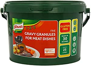 Knorr Gluten Free Gravy Granules for Meat Dishes, 25 Litres