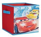Fun House 712771Cars Disney Aufbewahrungsbox faltbar mit Griffen Polypropylen rot 30x 3x 30cm