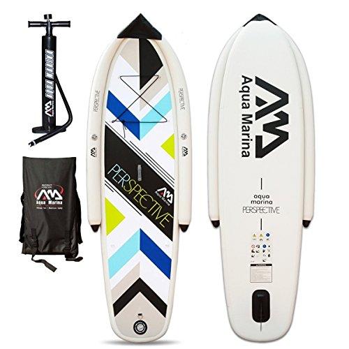AQUA MARINA Perspective Stand up Paddling Surfboard Paddel SUP Board ISUP