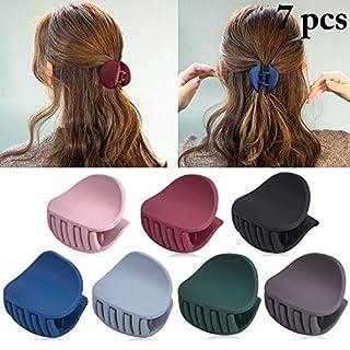 Aniwon 7 STÜCKE Haargreifer Einfache Einfarbig Unregelmäßige Mini Klaue Clips Haarschmuck