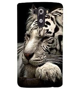 PRINTSHOPPII TIGER Back Case Cover for LG G3::LG G3 D855