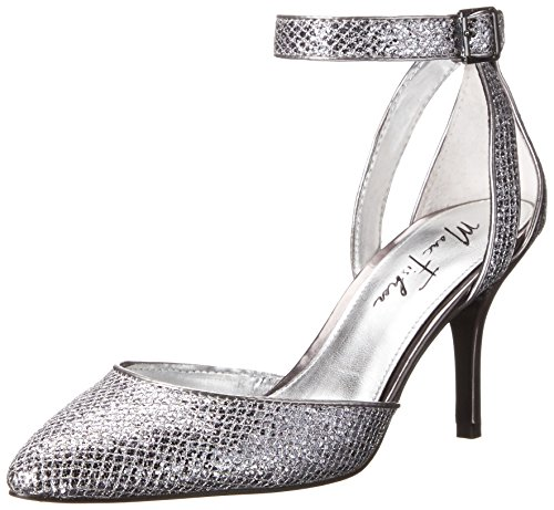 Marc Fisher Hein6 Femmes Toile Talons Silver Multi