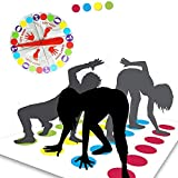 Funny Balance Floor Gaming Pad Mat, Family Team Game, Party Game, Balance Skills Game for Kids and Adults