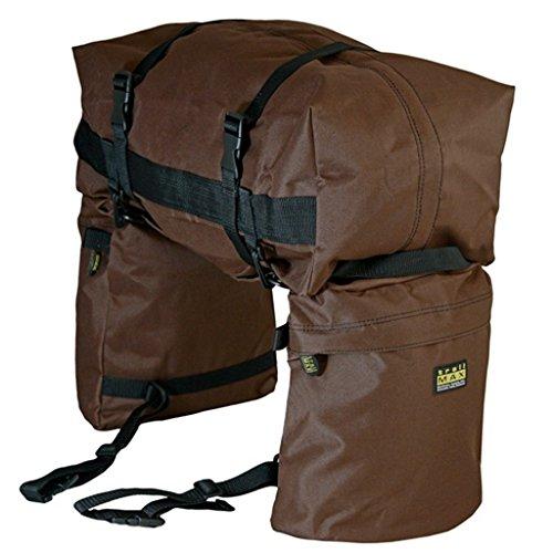 Trailmax Junior Satteltaschen, Braun, Einheitsgröße - Braun Tasche Mittagessen
