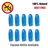 Binwo Mosquito Repellent Bracelet Capsule Refills 10 Pack for Kids & Adults, Natural - Best Reviews Guide