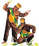 Kostüm Affe Chita Größe 40/42 Damen Herren Unisex Overall Tierkostüm Wilde Tiere Zoo Gorilla Karneval Fasching Pierro's