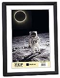 KB11 Collection Zep-Cornice per foto in resina, formato A4, 21 x 29,7 cm nero
