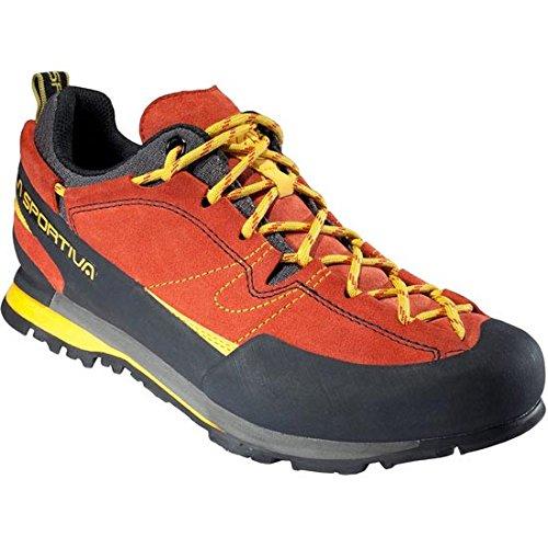 La Sportiva Boulder X, Zapatillas de Senderismo para Hombre, (Rojo 000), 43...