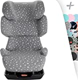 JANABEBE Bezug für Autokindersitz Cybex Silver Solution X2,-Fix (White Star)