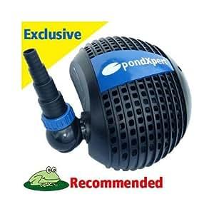 pondpush 15000 pumpe f r gartenteich teich filter wasserf lle garten. Black Bedroom Furniture Sets. Home Design Ideas