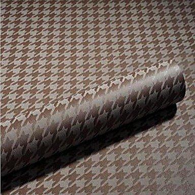 Zeitgenössisches Gewebe-abdeckung (GANTA® Fest Tapete Für Privatanwender Zeitgenössisch Wandverkleidung , Gewebe Stoff Klebstoff erforderlich Tapete , Zimmerwandbespannung , brown)