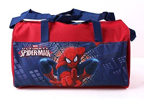Spiderman Bolsa de bolos para hombre (rojo)