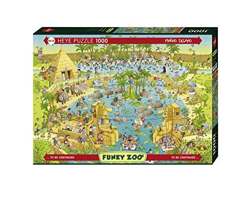 Preisvergleich Produktbild Nile Habitiat Puzzle: 1000 Teile