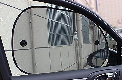Mondpalast @ 4x Kinder Auto-Sonnenschutz Sonnenblenden für Seitenfenster Auto Autoscheiben Schutz vor schädlichen UV-Strahlen Baby Autosonnenschutz passt universell Für KFZ AUTO