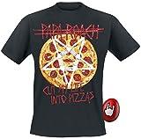 Papa Roach Pizza T-Shirt Black XXL