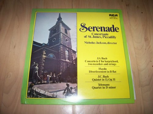 LSB 4099 CONCERTANTE ST JAMES PICCADILLY Serenade LP