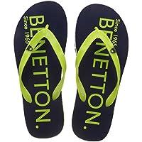 United Colors of Benetton Men's Navy Flip-Flops - 7 UK/India (41 EU)
