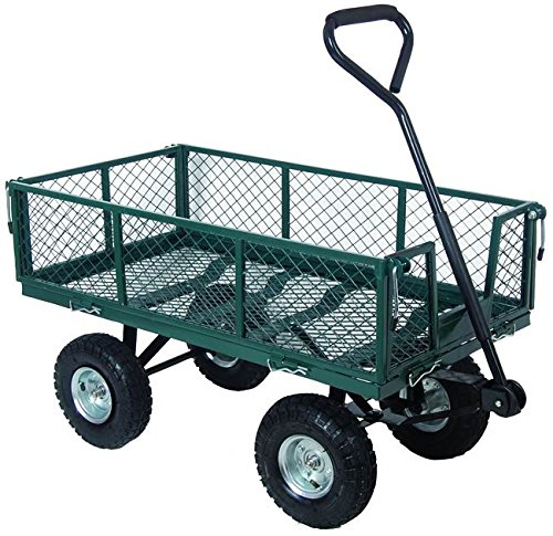 Blinky 59711-10 Chariot de jardin à 4 roues en acier
