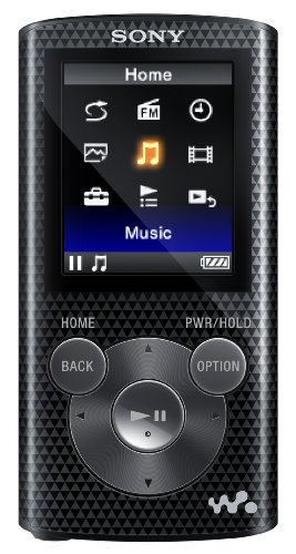 Sony NWZ-E383 Walkman MP3 Video Player (4GB)-Black
