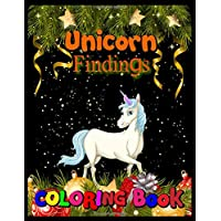 unicorn findings coloring book: Hidden Pictures, Dot To Dot, How To Draw, Spot Difference, Maze, Mask, Word Search (Unicorn Coloring Book)