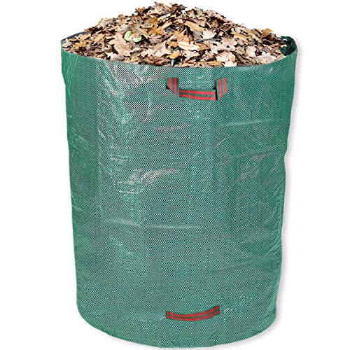 Schramm® Gartensack 120 Liter Grün Robusten Polypropylen Gewebe PP Gartensäcke Garten Sack Säcke Big Bag Laubabfall Gartenabfall