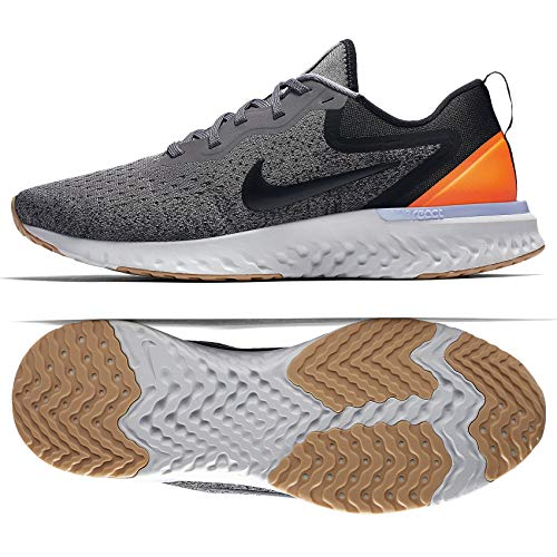 Nike Damen Odyssey React Laufschuhe grau/orange, 40.5 EU
