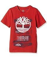 Timberland TEE-SHIRT MANCHES COURTES GARCON-T-shirt  Bambino