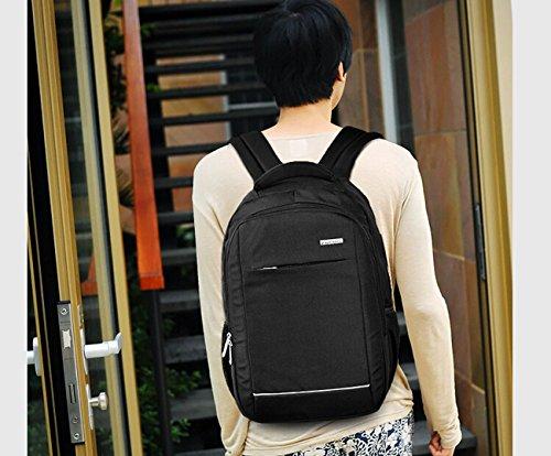 awland Laptop Rucksack Multifunktional Unisex Gepäck & Travel Bags Rucksack Rucksack Rucksack Wandern Taschen Studenten Schule Rucksäcke für bis zu 38,1cm Laptop Macbook Computer schwarz schwarz schwarz - schwarz